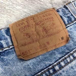Levi's Jeans - Vintage Levi's 551 High Waisted Mom Jeans Size 28